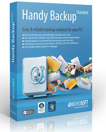 Handy Backup Standart / Pro 7.3.0