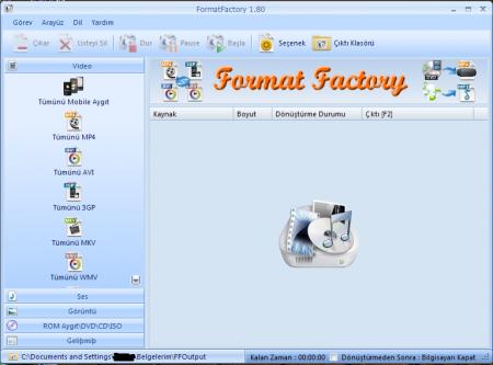 Format Factory скачать бесплатно на русском