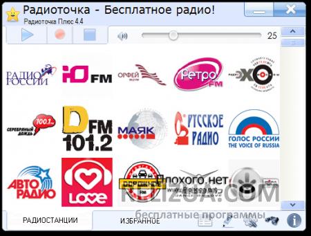 Радиоточка - радио онлайн