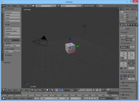 Blender 3D скачать бесплатно Блендер на русском.