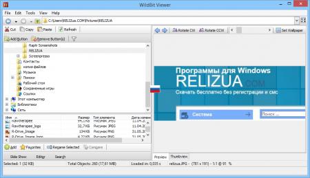 WildBit Viewer графический обработчик.