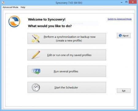 Syncovery - резервная копия любого устройства.