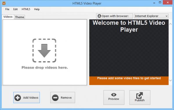 HTML5 Video Player для всех Браузеров.
