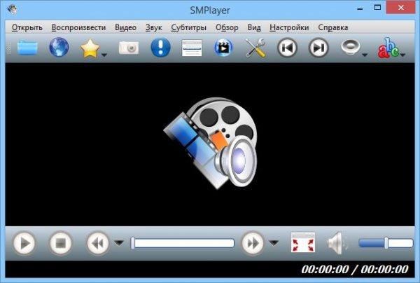 SMPlayer на русском.
