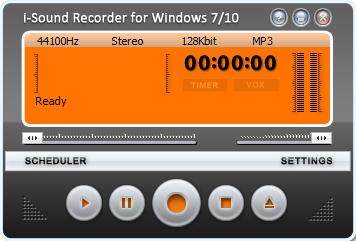 i-Sound Recorder запись звука с микрофона.