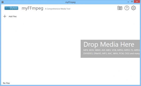 myFFmpeg для Windows.