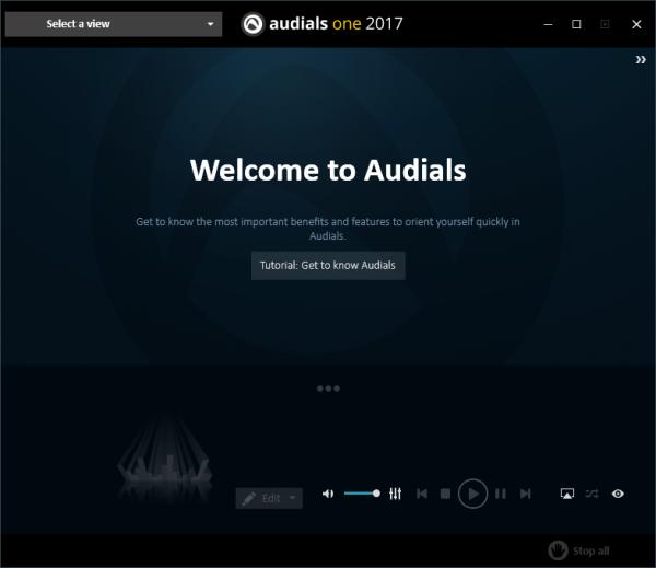 Audials One 2017 медиа-плеер для Windows.