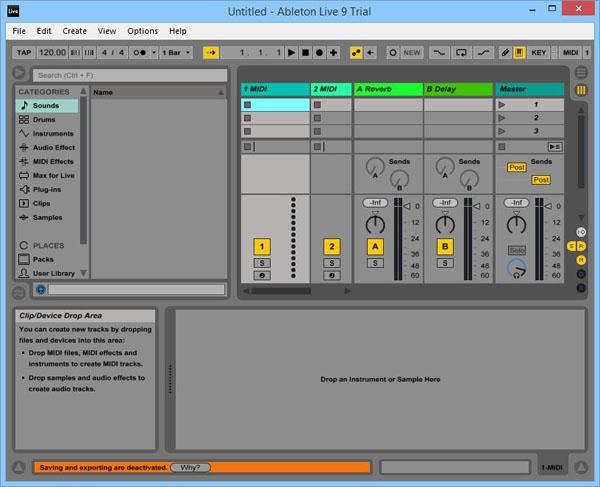 Ableton Live 9 на русском торрент - создание сэмплов.