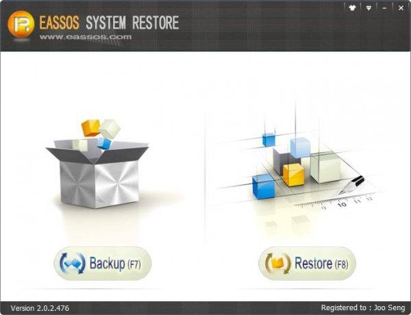 Eassos System Restore - резервное копирование Windows.