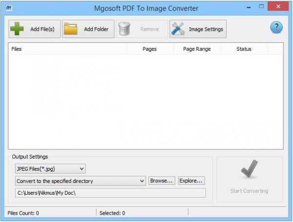 PDF to Image Converter - конвертер PDF в изображения.