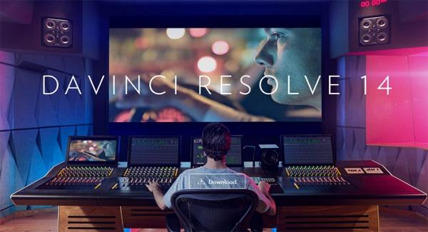DaVinci Resolve 14 торрент - монтаж видео.