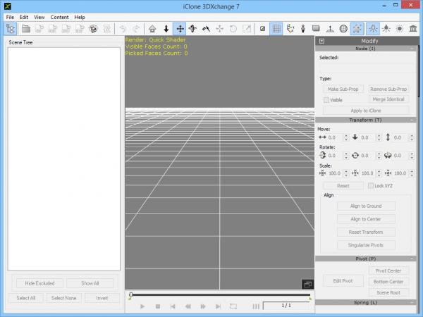 3DXchange 7 - 3D моделирование.