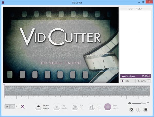 VidCutter 5.0.5 - редактор видео.